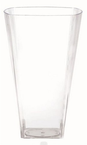 Amscan 358992.86 Large Clear Premium Plastic Square Tumblers - Pack of 168 59f0aa6ce2246158ca0e82c9