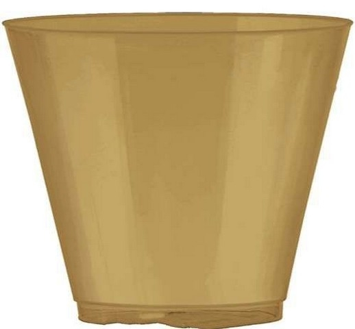Amscan 350366.19 Gold Plastic Cups - Pack of 648 59f0aa6de2246158cc439ae2