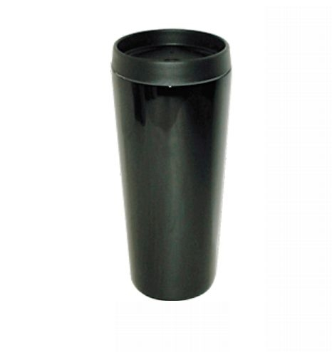 Good Life Gear Sf3007 BLK 16 oz. Hot-Cold Travel Mug With Screw On Lid - Black 59f0e6ebe2246169f06ec26a