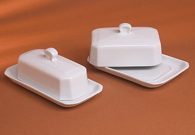 Pillivuyt 270318Bx Butter Tray With Cover American Style - 7.5 x 3.5 Inch 59f1f2f1e224613aac6adcc5