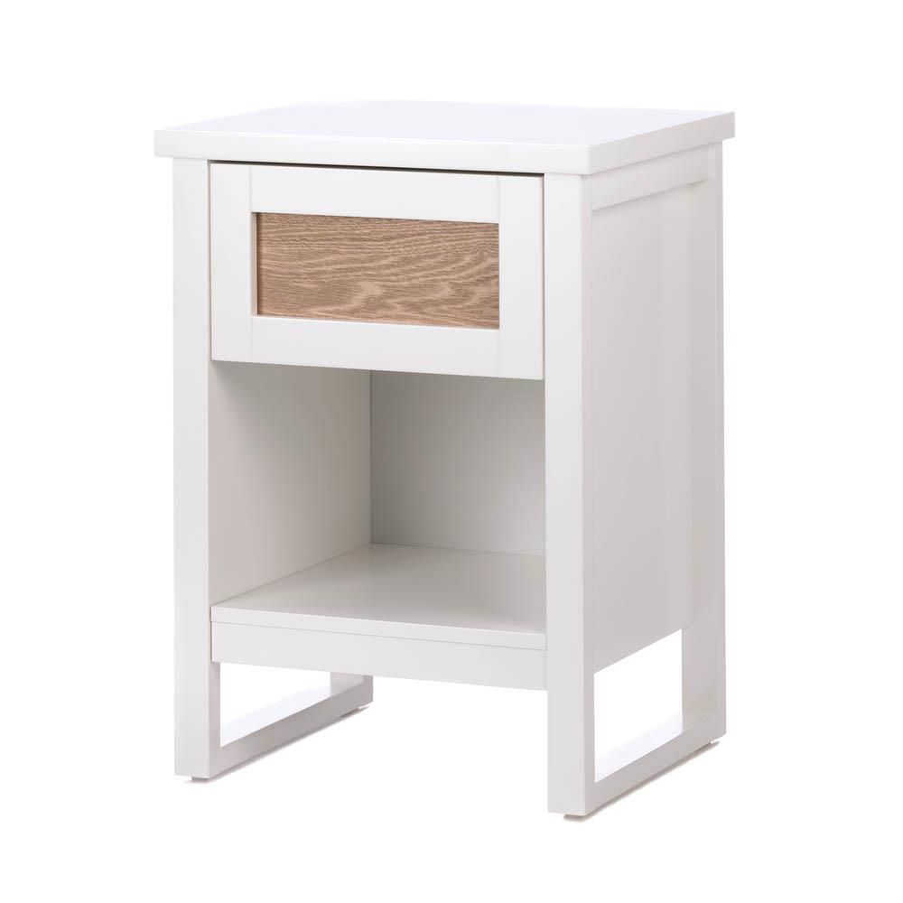 Accent Plus Perfect White Side Table