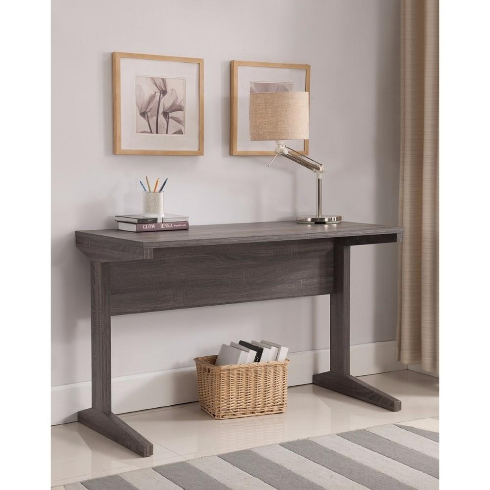 Minimalistic Classy Desk In Contemporary Style, Gray