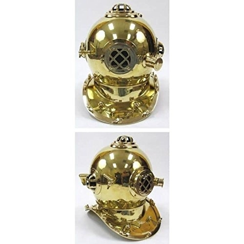 Special Edition Mark V Diver's Helmet in Brass 589956a7c98fc433fb58ef63