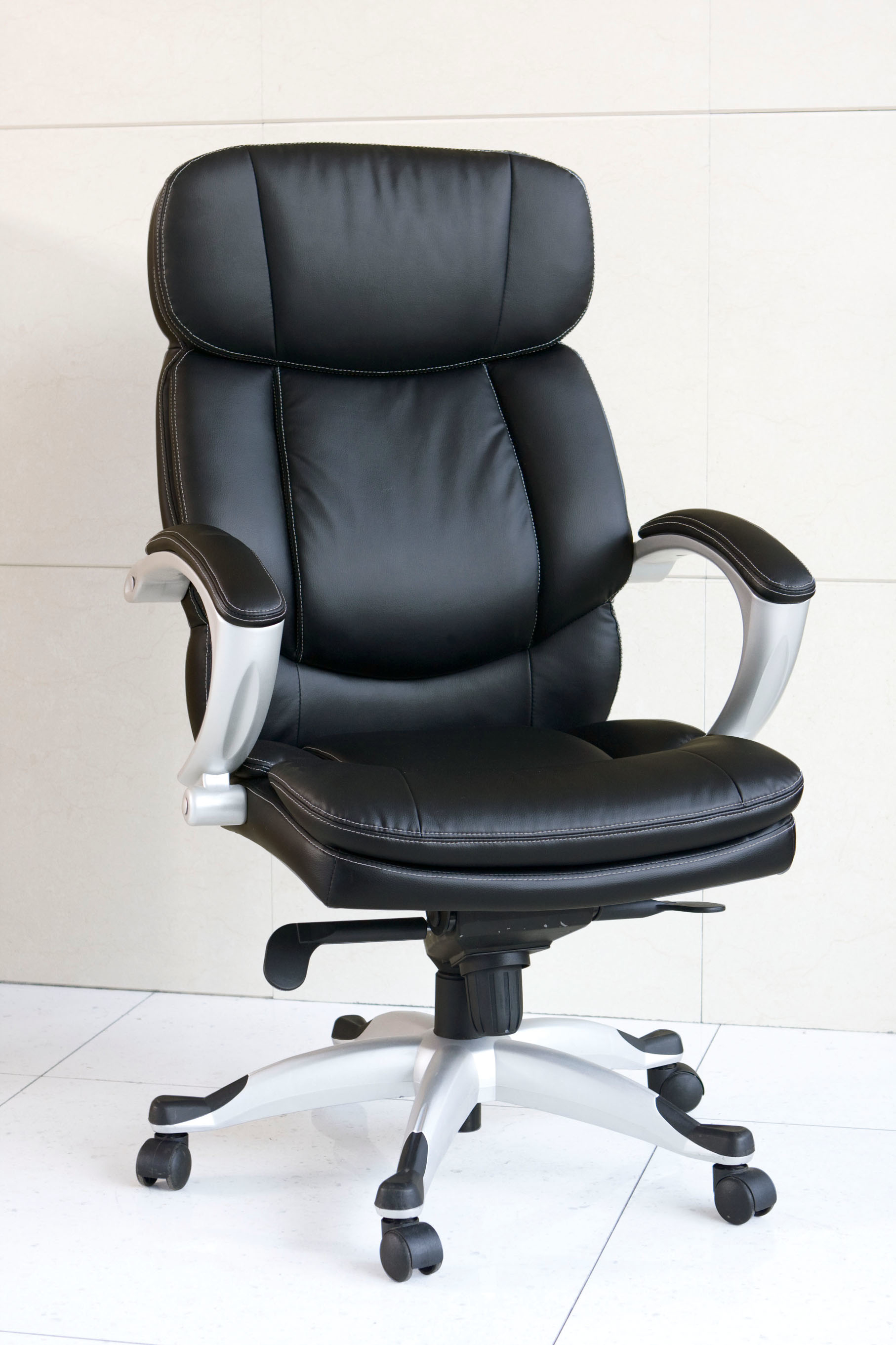 Minta Office Chair With Pneumatic Lift, Black