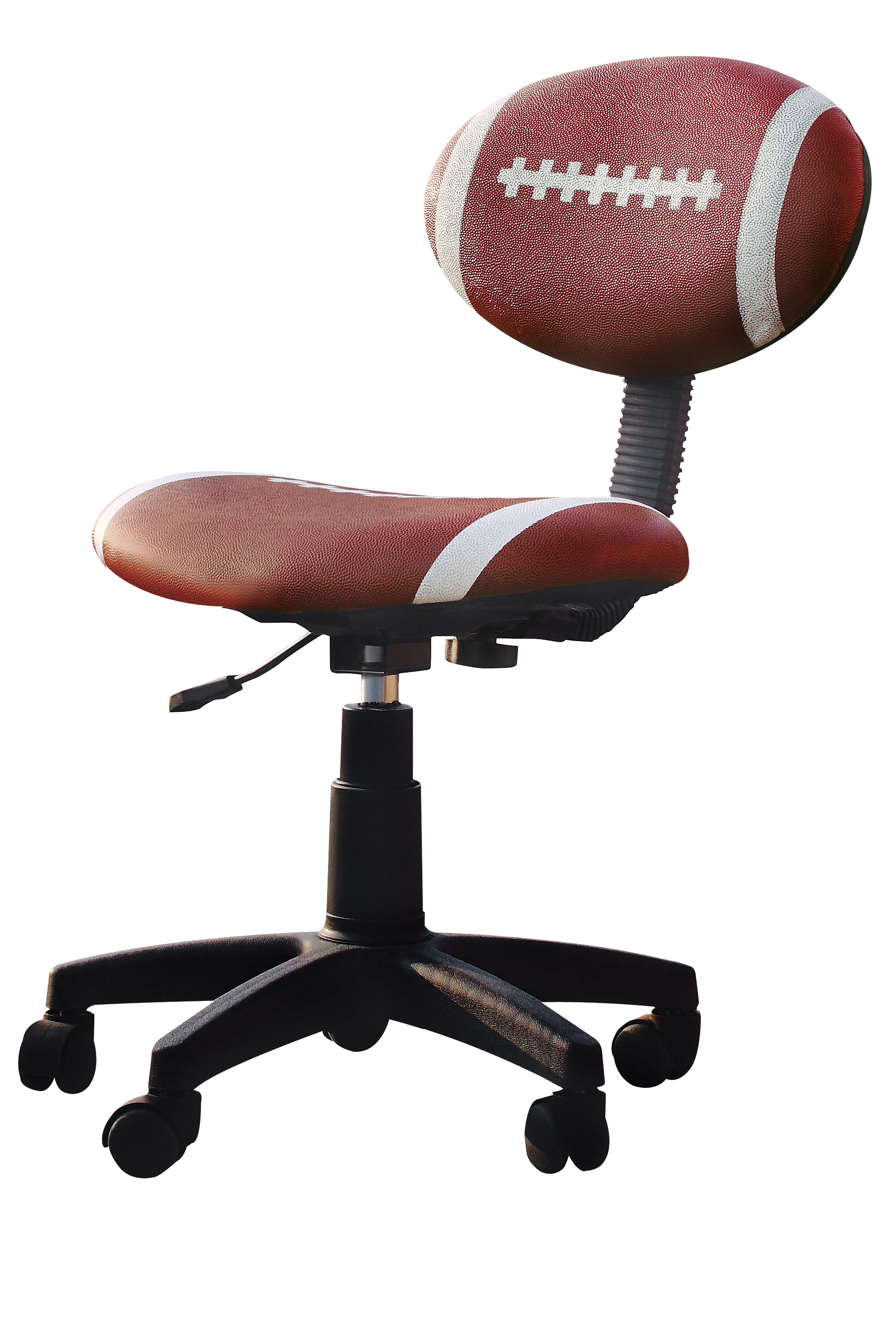 Sports Inspired Comfortable Office Chair,brown