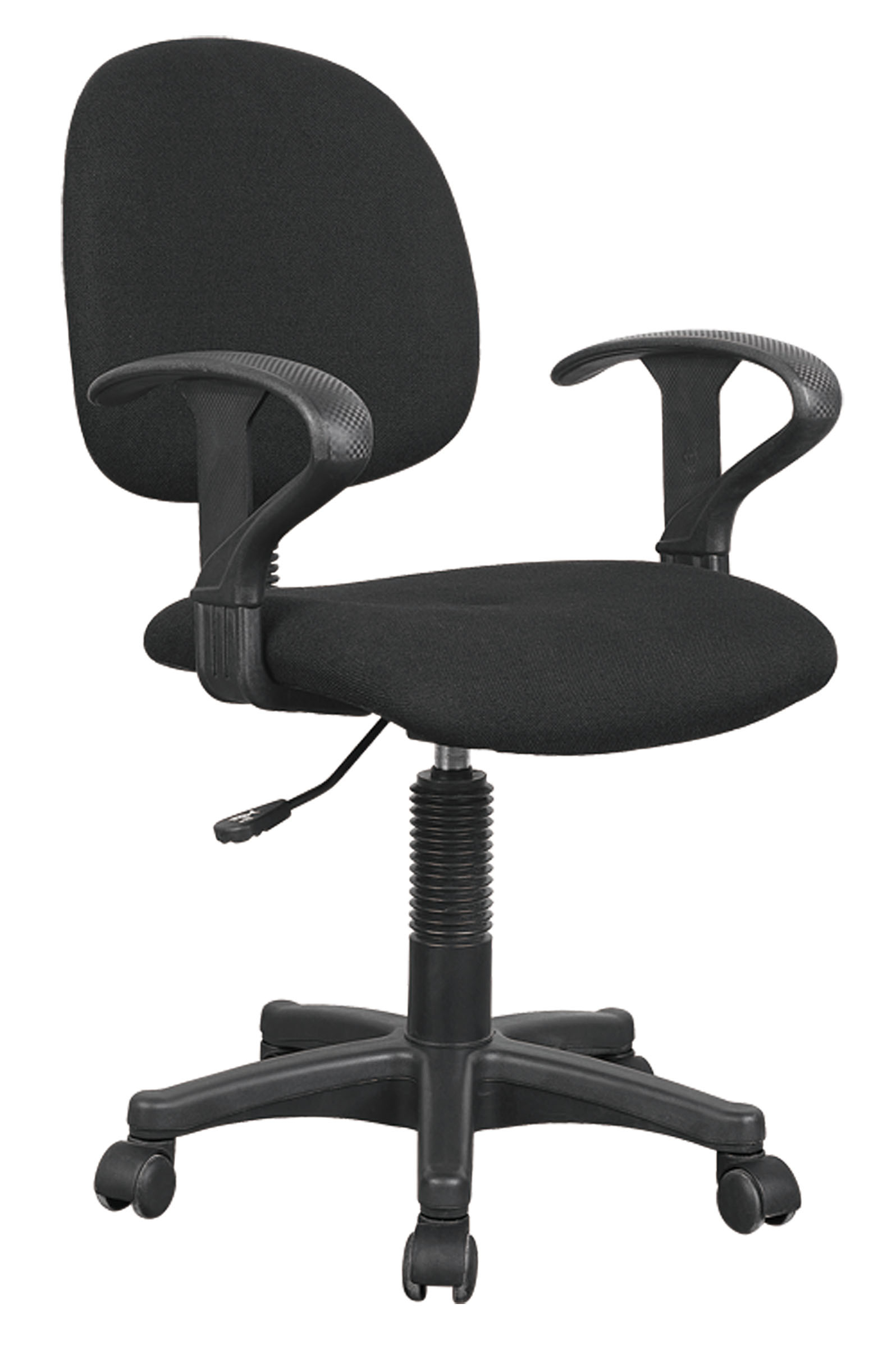 Remi Office Chair With Pneumatic Lift, Black