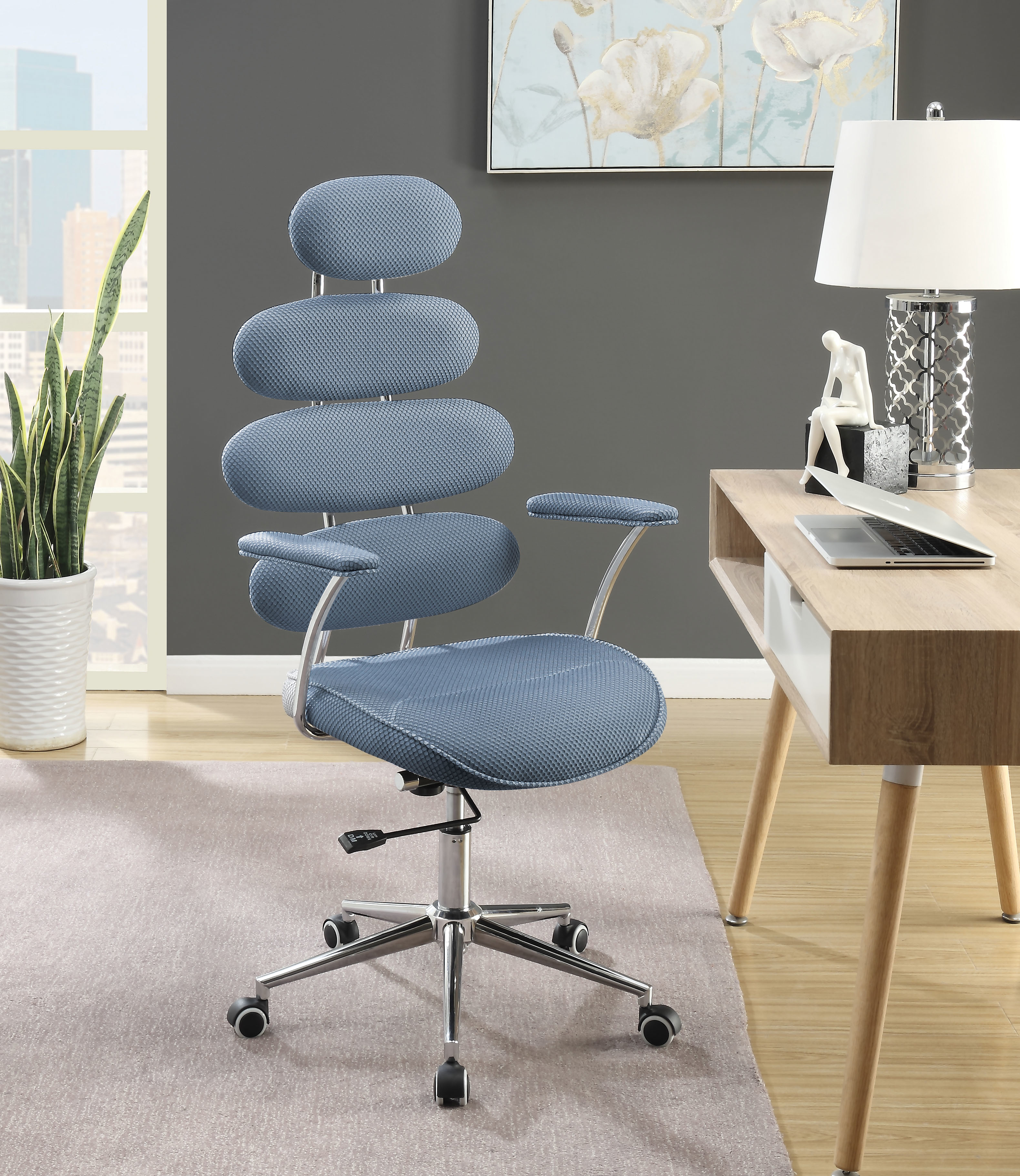 Noma Office Chair, Blue