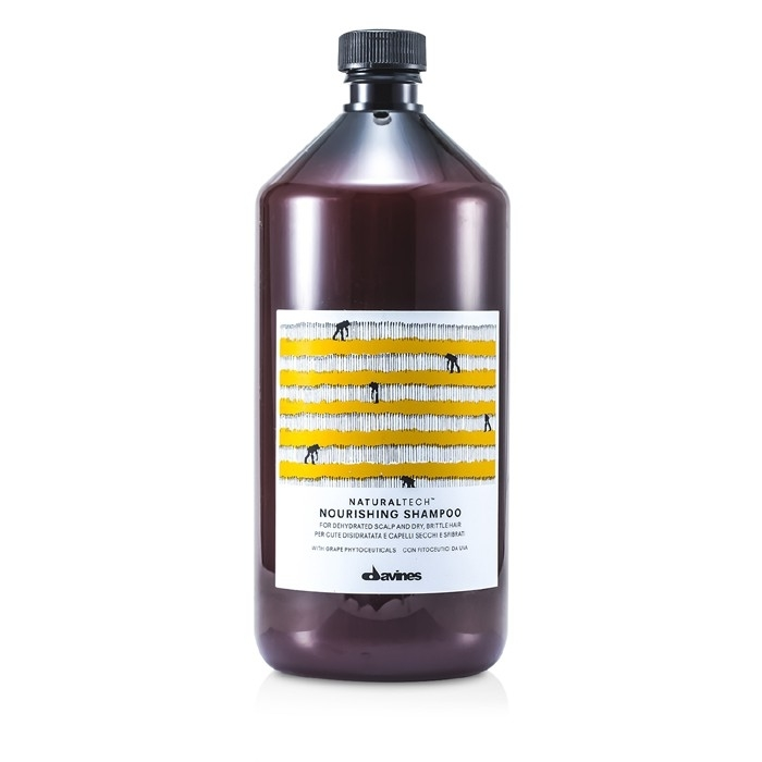Davines – Natural Tech Nourising Shampoo (For Dehydrated Scalp and Dry, Brittle Hair)