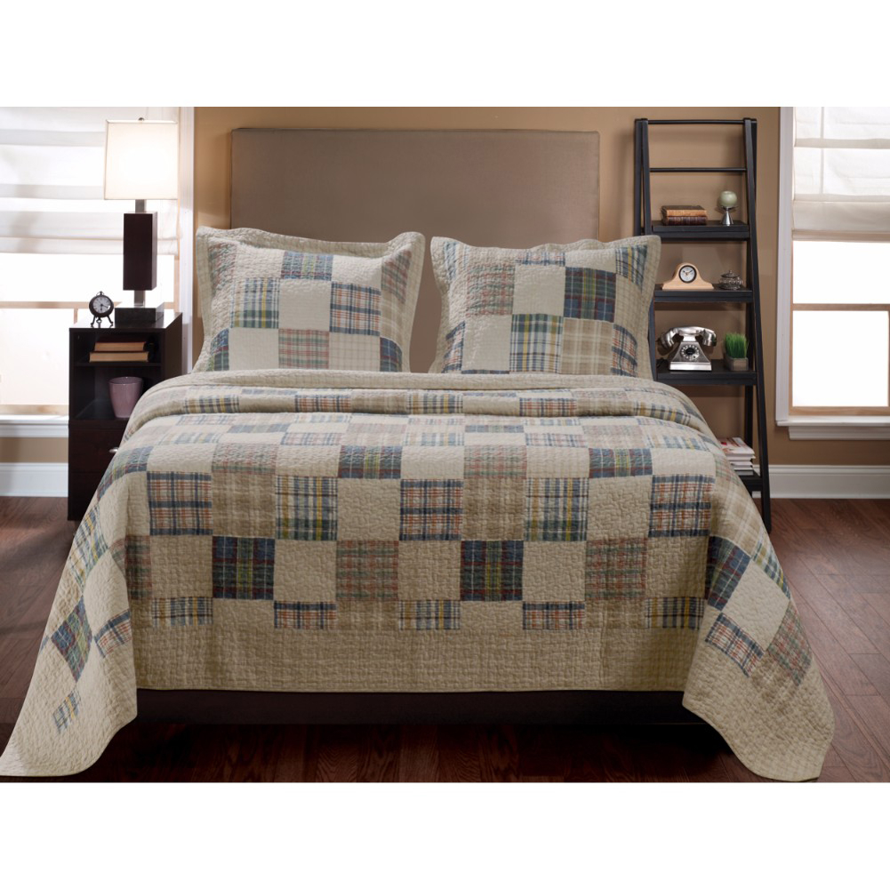 Oxford Quilt Creative Style Magnificent King Set by Greenland Home Fashions 5a041ad7e224616c781651a0