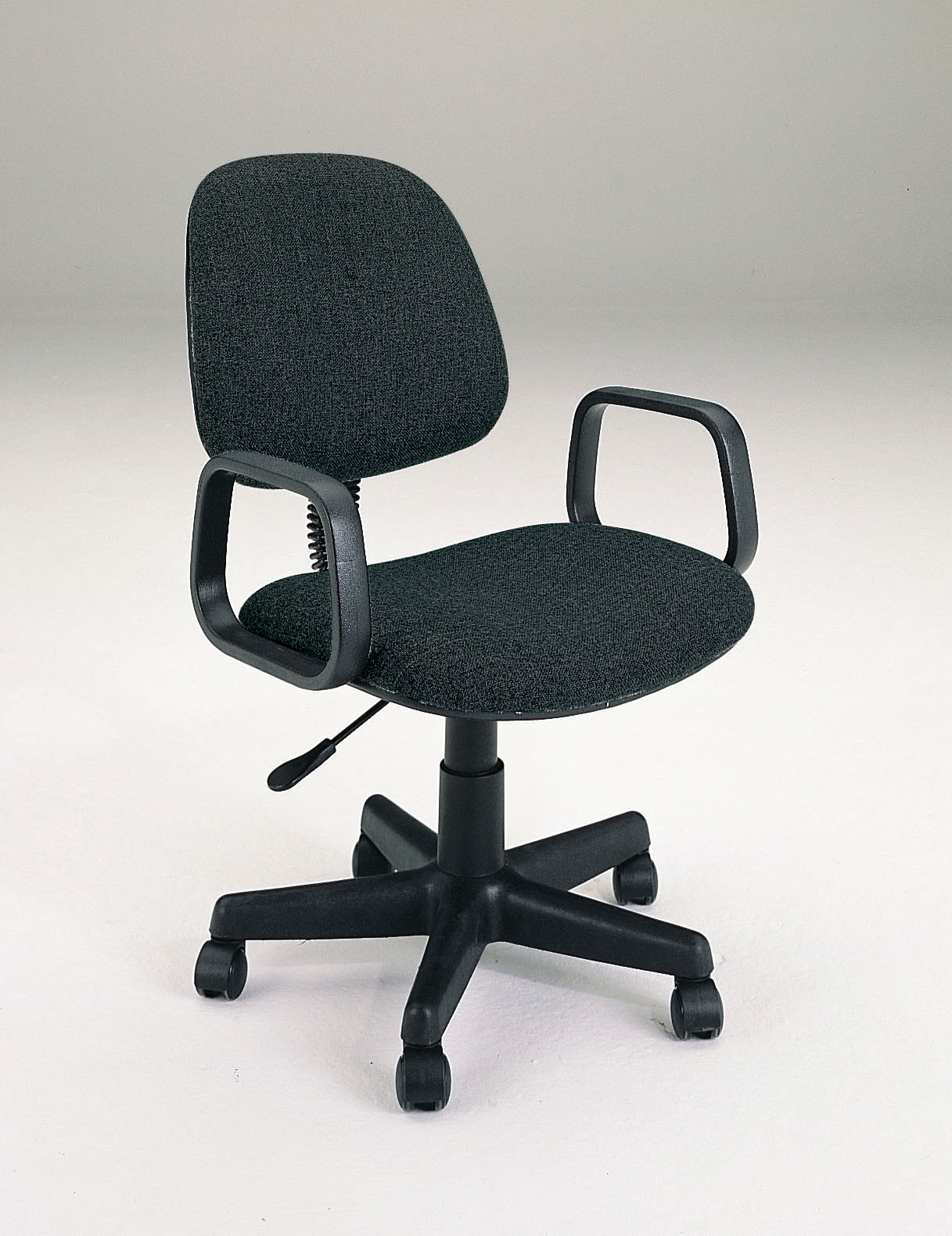 Mandy Office Chair With Pneumatic Lift, Black