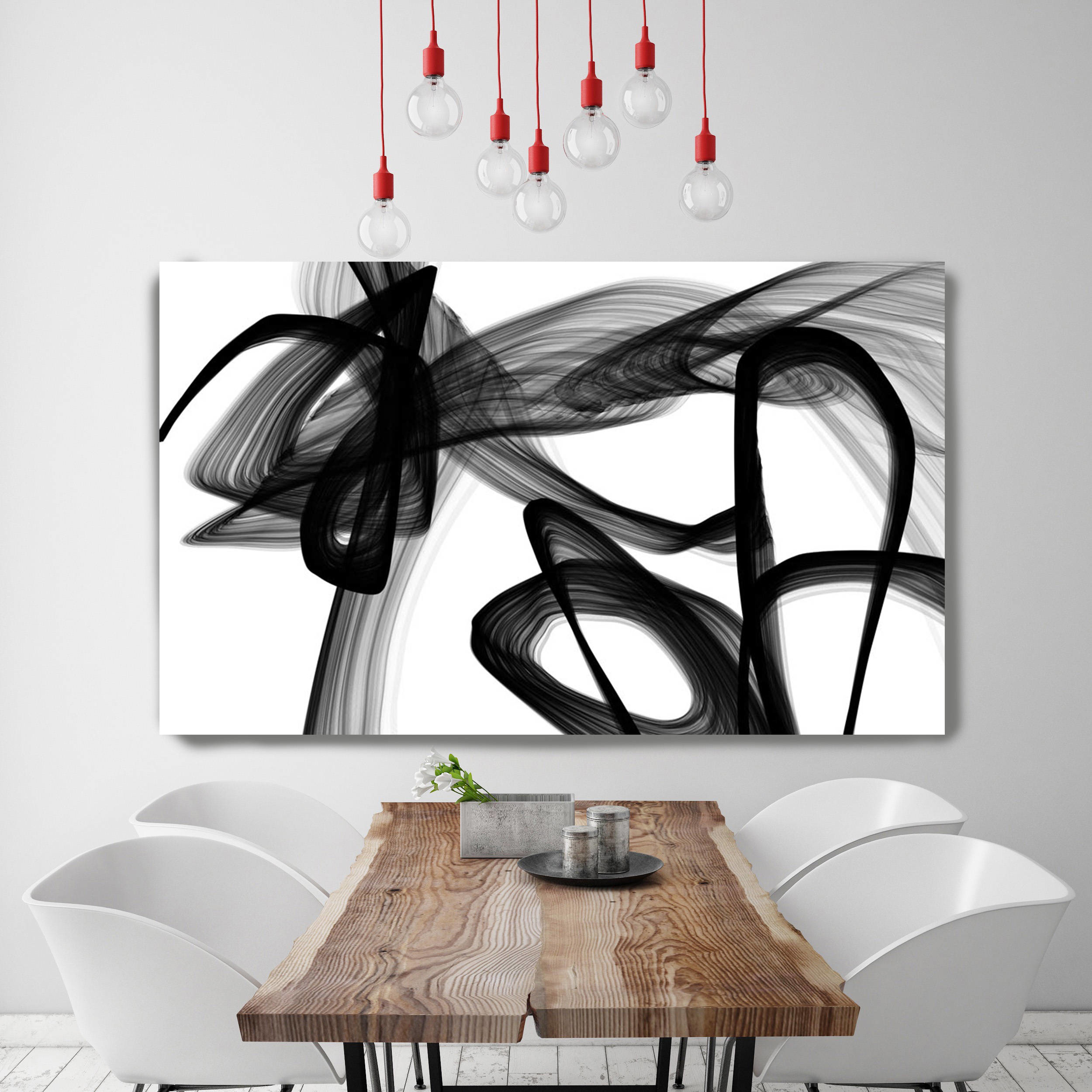 Irena Orlov Poetryblack Painting Print Wrapped Canvas Irena O Abstract