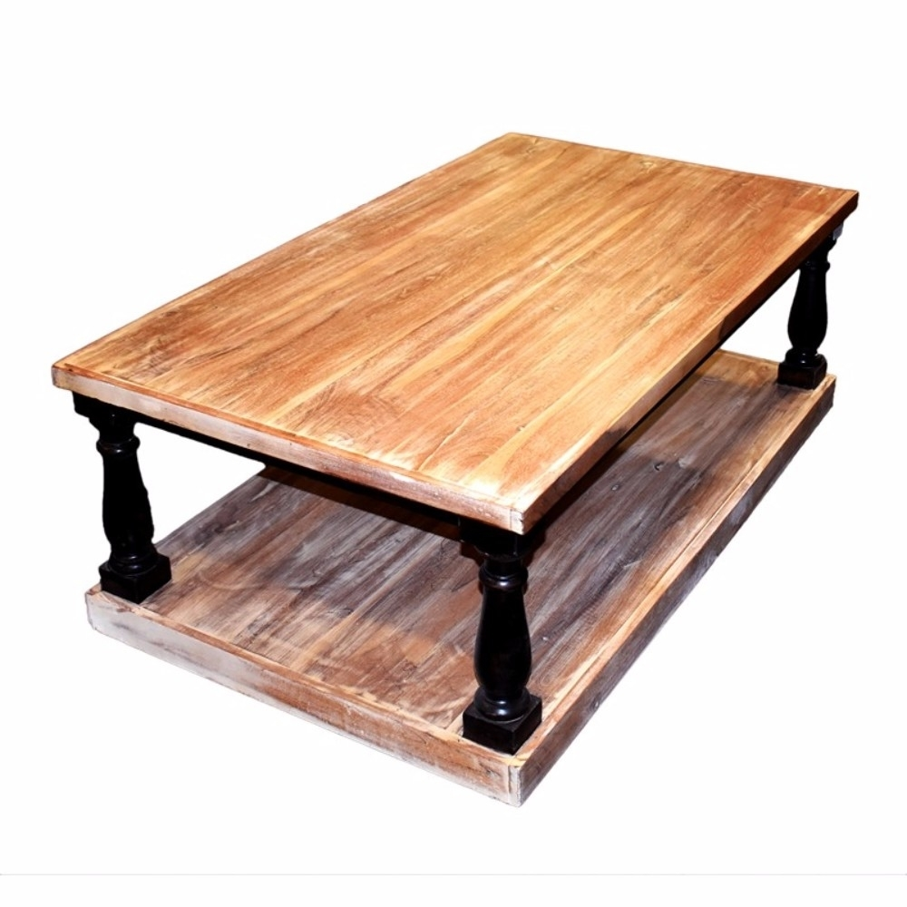 Traditional Style Rectangular Wooden Coffee Table, Brown 5a1bec4ce224611e0370edfb