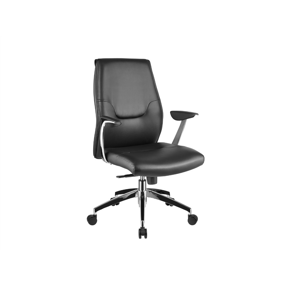 Arena Black Arm Office Chair