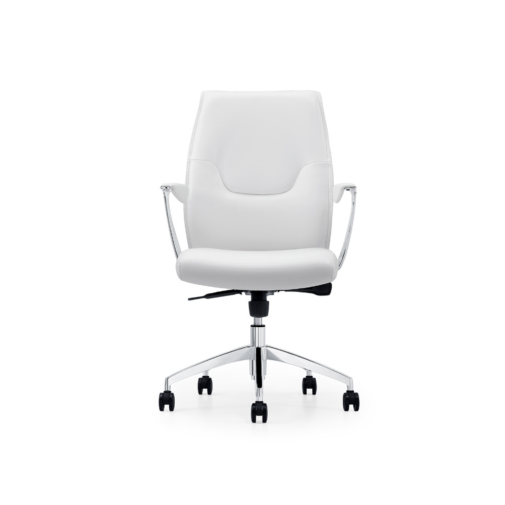 Arena White Arm Office Chair