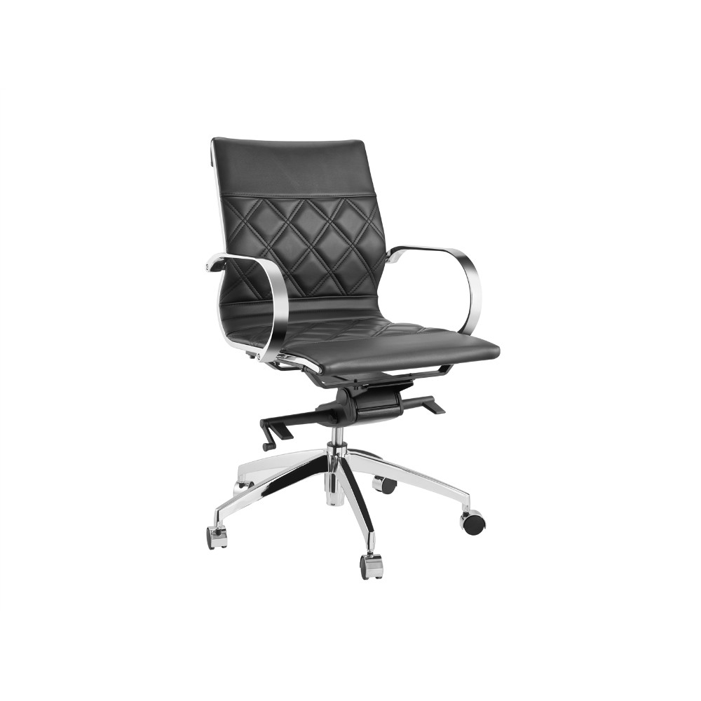 Lider Black Arm Office Chair