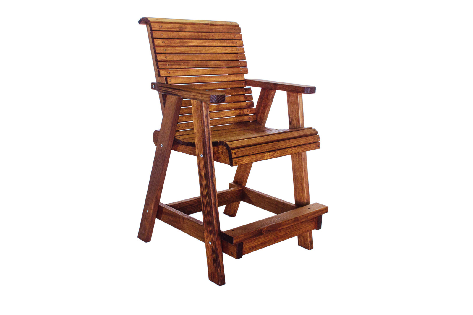 Quality Lowback Outdoor Patio Bar Chair