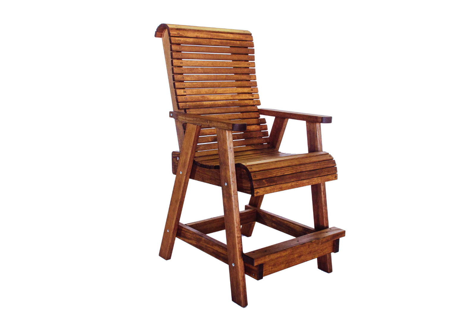 Quality Outdoor Patio Highback Bar Chair