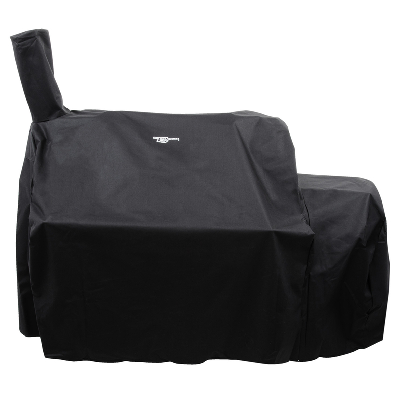 Char-Broil 8694010 33.5 x 58.5 x 38 in. Black Grill Cover for Oklahoma Joes Highland Offset Smoker- pack of 4 5a39965ce224616bc6038046