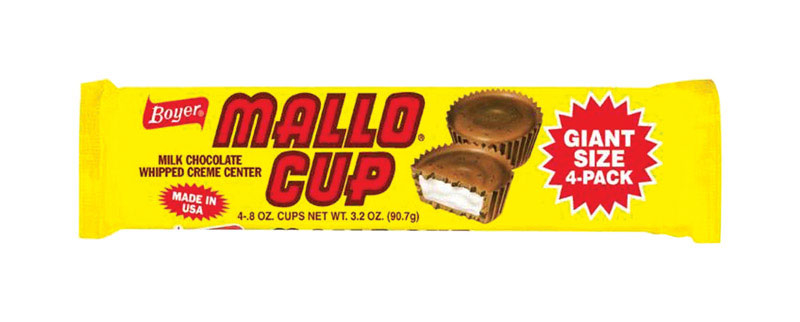 Boyer 9302142 3.2 oz Mallo Cup Milk Chocolate Whipped Creme Center Candy - pack of 24 5a399cef2a00e433f72cee90
