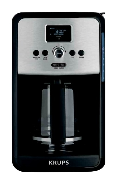 Krups Ec314050 Savoy 12-Cup Coffee Maker Stainless Steel 5a399f83e224616c58154d60