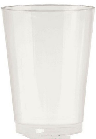 Amscan 350363.128 Tumbler Plastic 10 oz. Big Party Packs - Pearl - Pack of 432 5a39e90be2246111b4095a88