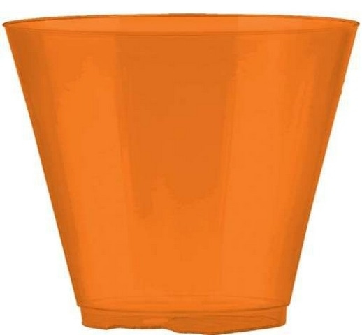 Amscan 350366.05 Orange Peel Plastic Cups - Pack of 648 5a39e90be2246111aa365498