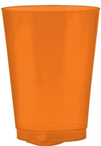 Amscan 350363.05 Orange Peel Plastic Cups - Pack of 432 5a39e90b2a00e45b56598405