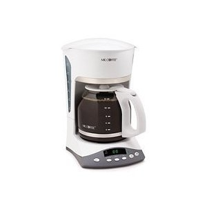 Mr. Coffee Skx20-Np 12 Cup Programmable Coffee Maker - White 5a3bee8de224615ab95ed839