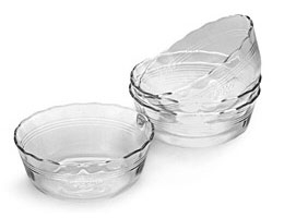 Corningware - Pyrex 6001143 CLR 10 oz. Deepdish - 464-D - Pack of 6 5a3bf2452a00e42c5d69c130