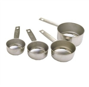Libertyware Meacp Stainless Steel Standard Measuring Cup Set 5a3c080ee2246167d41d9fc5