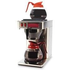 CoffeePro Cfpcp2B 2-Burner Coffeemaker- 10in.x12in.x22in.- 3 Prong Cord- Stainless ST 5a3c19e5e22461686b072cbe