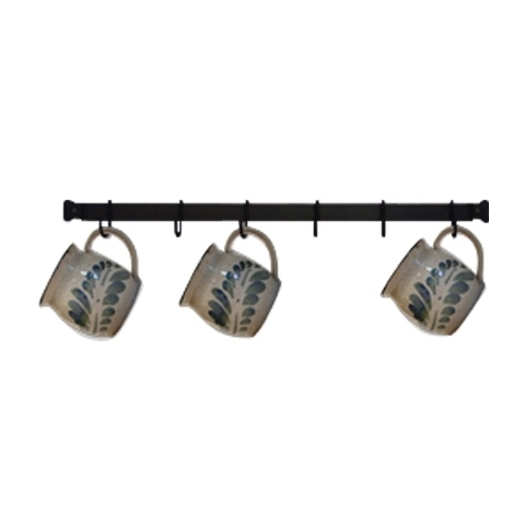 Village Wrought Iron Cr-24 24 in. Cup Rack 5a3c2c82e22461788d21c61e