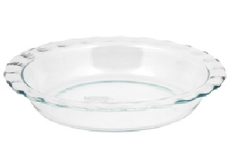 Pyrex 1085800 Easy Grab 9.5 in. Fluted Pie Dish 5a3c2e2f2a00e44b6609f18c