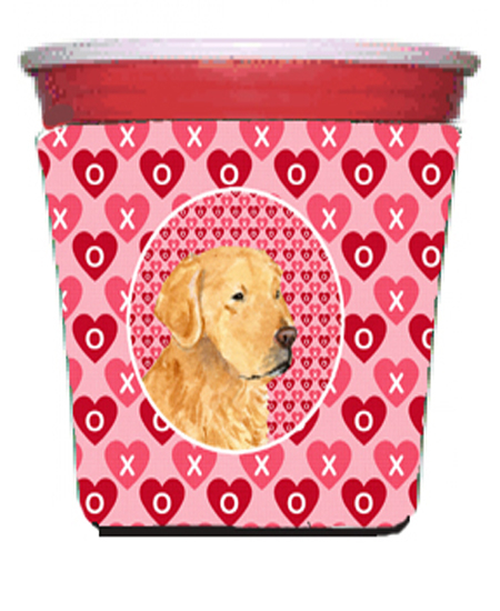 Carolines Treasures Ss4476Rsc Golden Retriever Red Solo Cup bottle sleeve Hugger - 16 To 22 oz. 5a3c7809e224611f232cf391
