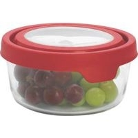 Anchor Hocking Food Container Round 4Cup 91845 Pack Of 4 5a3c7a98e2246117c23e63fd