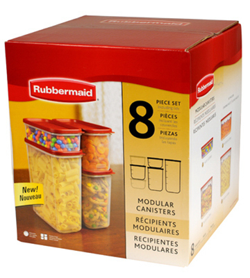 Rubbermaid 1776474 Dry Food Container Set 8 Pieces 5a3c82d1e224611f232de494