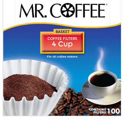 Mr. Coffee Jr100 Coffee Filter For Mr. Coffee - 100 Count 5a3c83272a00e46aee176985