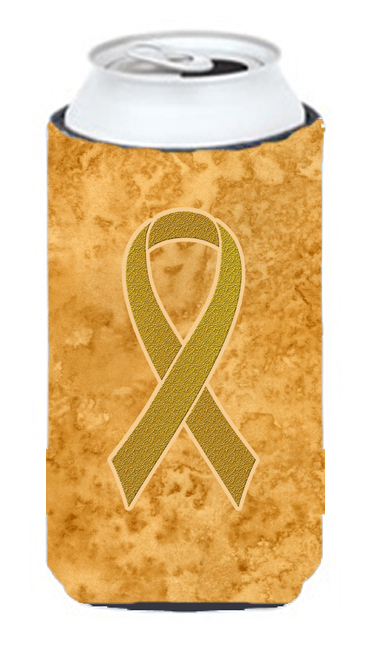 Carolines Treasures An1209Tbc Gold Ribbon for Childhood Cancers Awareness Tall Boy bottle sleeve Hugger 22 To 24 Oz. 5a3d2715e2246177db653212