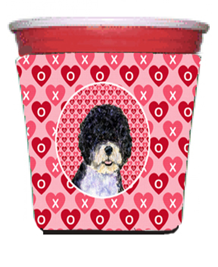Carolines Treasures Ss4490Rsc Portuguese Water Dog Red Solo Cup bottle sleeve Hugger - 16 To 22 oz. 5a3d28a42a00e44f84729f2f