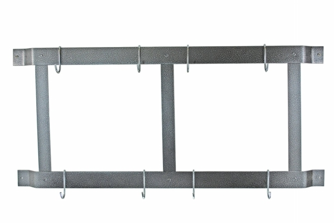 Compare Ultimate Wall Mounted Pot Rack Finish Black