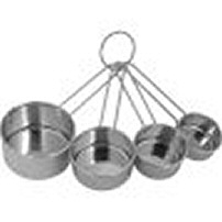 Ekco Housewares 1094604 Stainless Steel 4 Piece Measuring Cup Set Pack Of 3 5a3d5f62e2246115fb47c70c