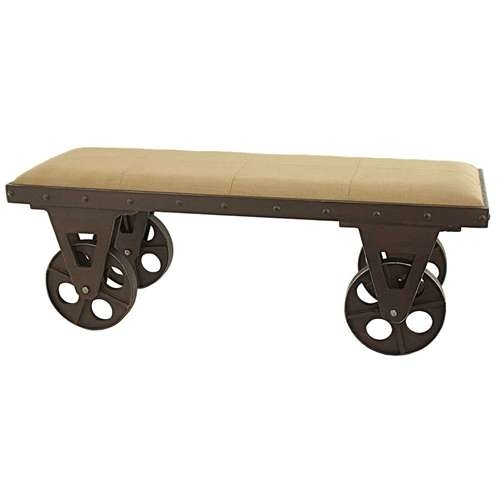 Aspire 5536 Bolton Industrial Bench Brown