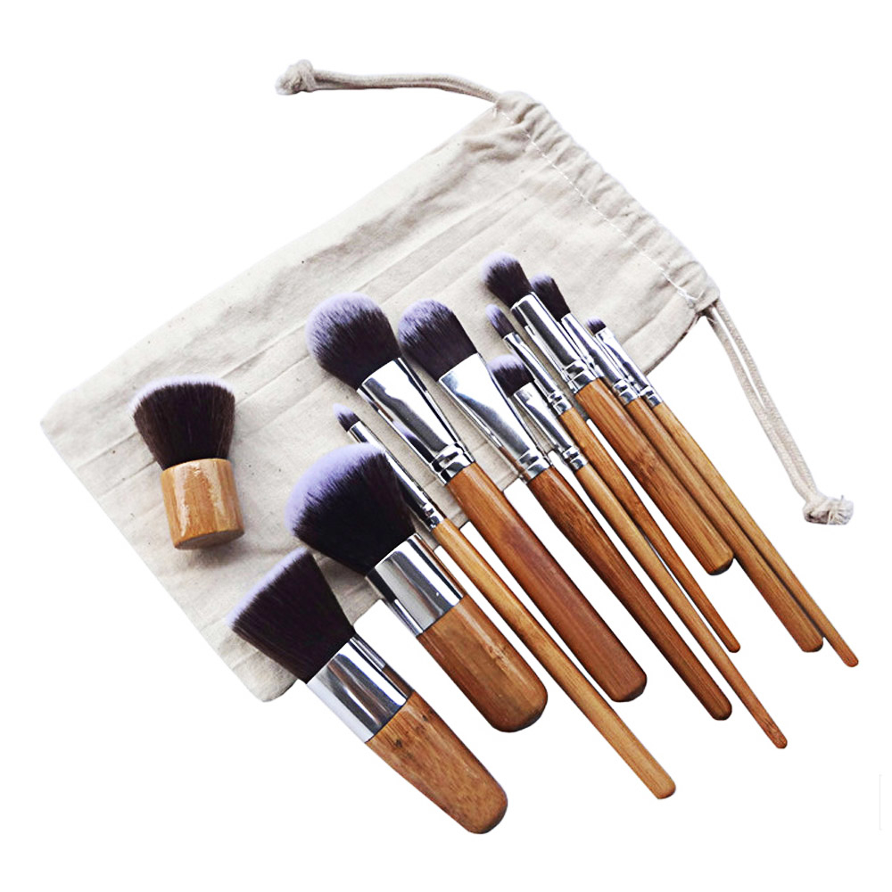 11pcs Professional Multifunctional Cosmetic Makeup Tool Finishing Brushes Kit 5a45d519a020af61cd01cb21