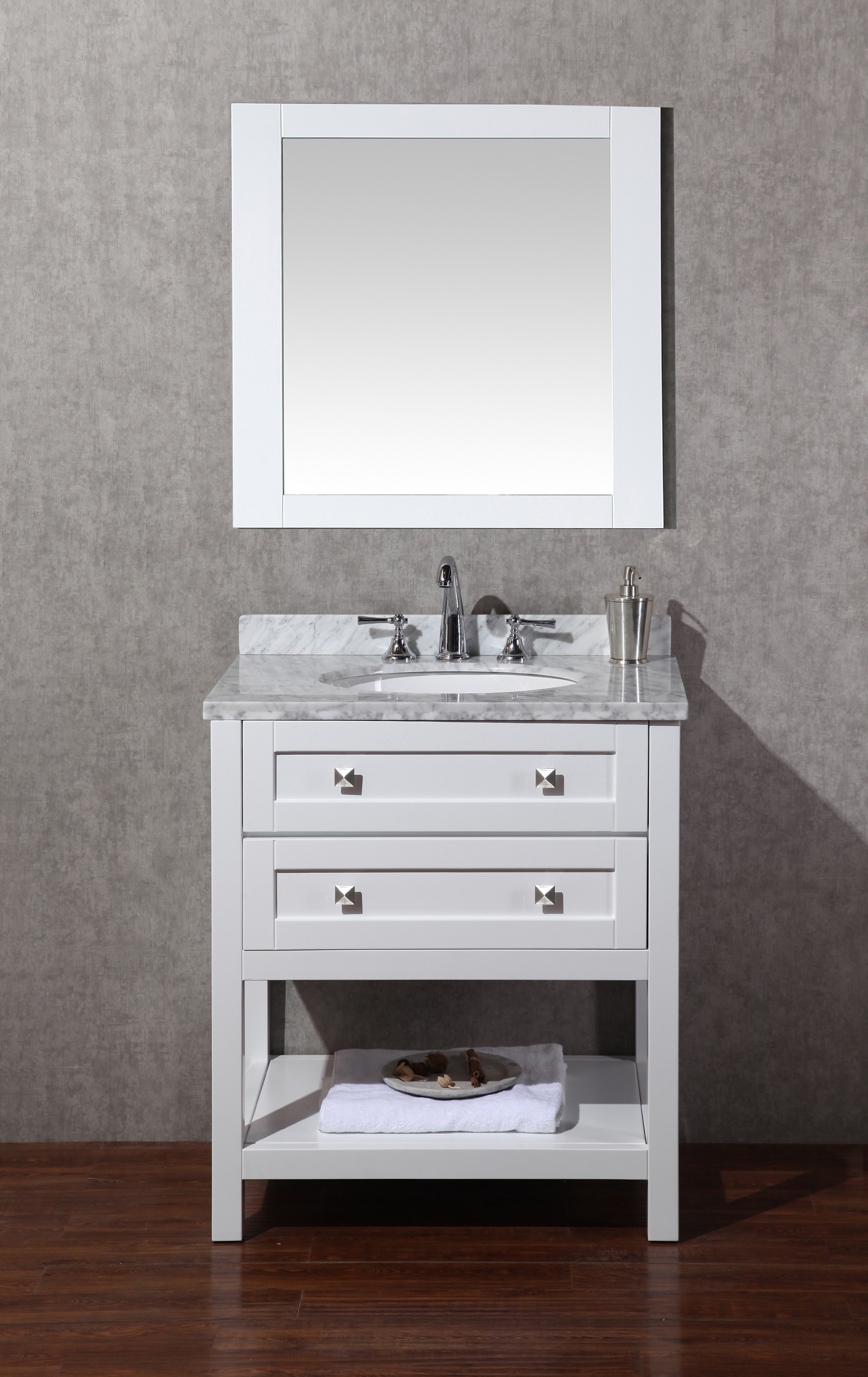 Myhomeandbath Sink Bathroom Vanity Mirror Pure Marlasingle