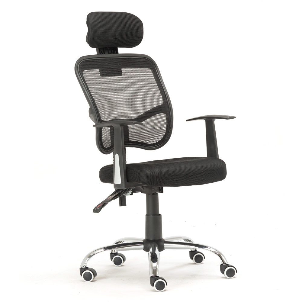 Human Engineering Breathable Five-star Feet Chair for Home Use Black 5a5c2dc6caccdd36327ad96c