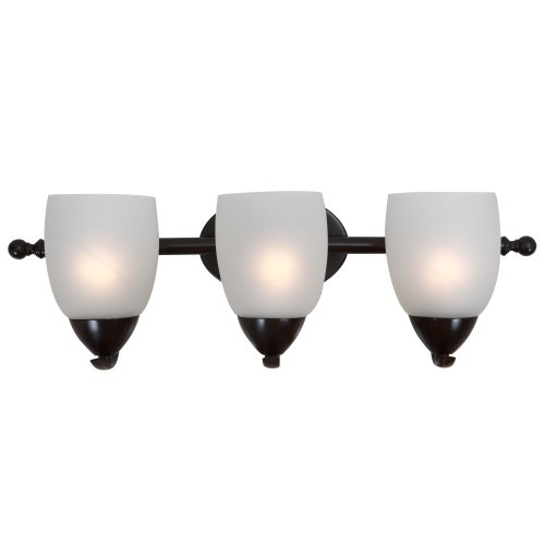 Mirror Lake Fabulously Styled 3 Lights vanity with White Etched Glass by Yosemite Ho 589955bec98fc433fe5a3942