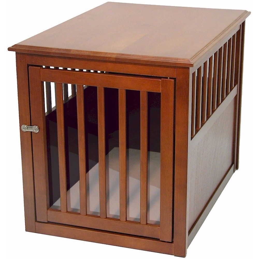 Crown Pet Crate Table, Medium size, with Mahogany Finish 5899544ac98fc41ef333f1fa