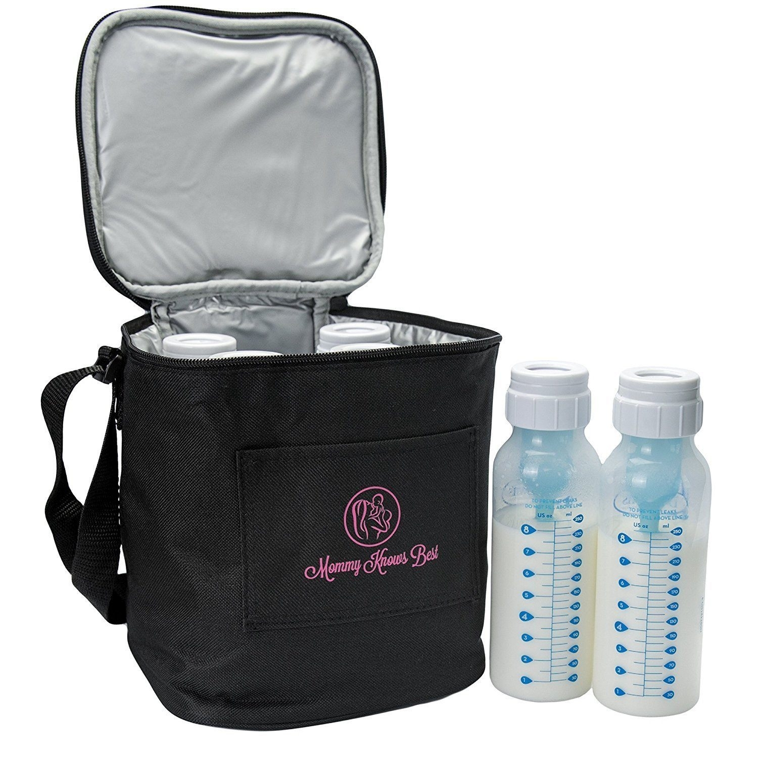 Extra Tall Breast Milk Baby Bottle Cooler Bag (Fits up to 8 Oz. Bottles) 59b6dbe7a020af3ebe5f5283