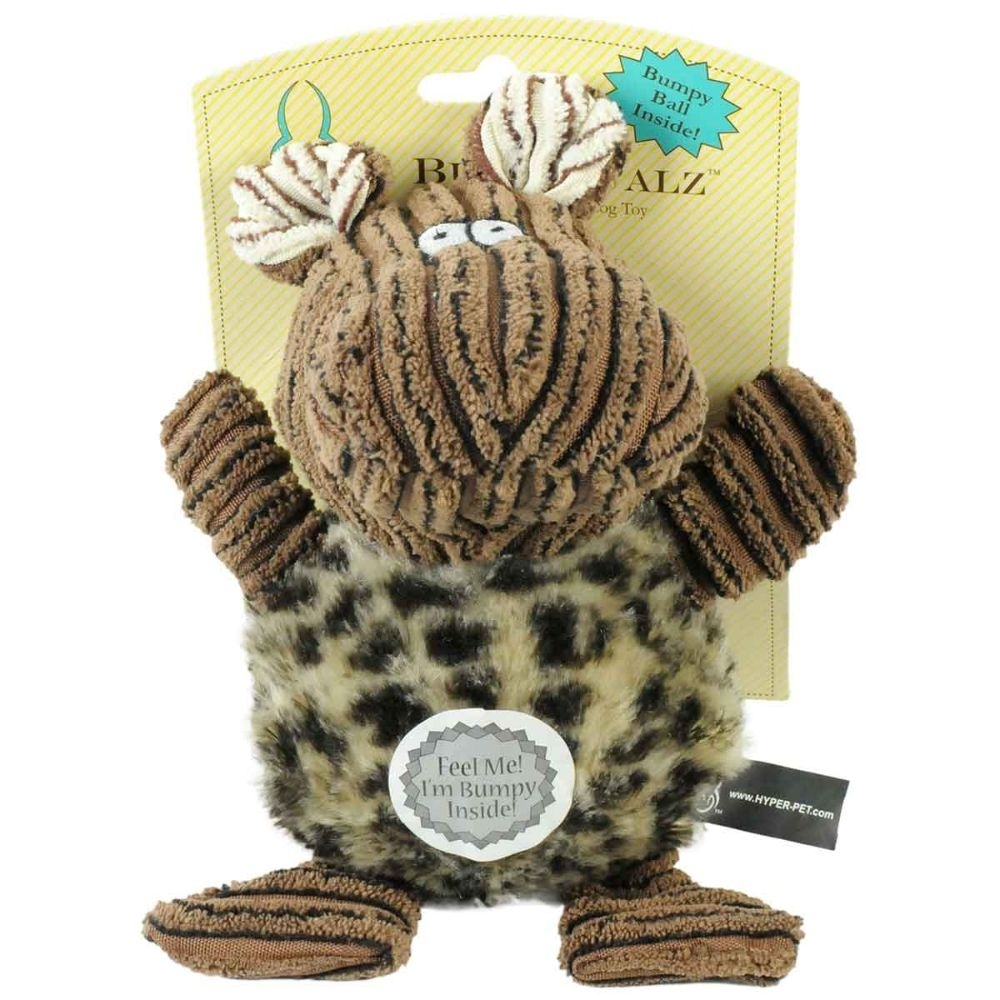 Hyper Pet Bumpy Palz Hippo Dog Toy Large Brown 7.5x 5x 5 Inch 5899552dc98fc433fd264988