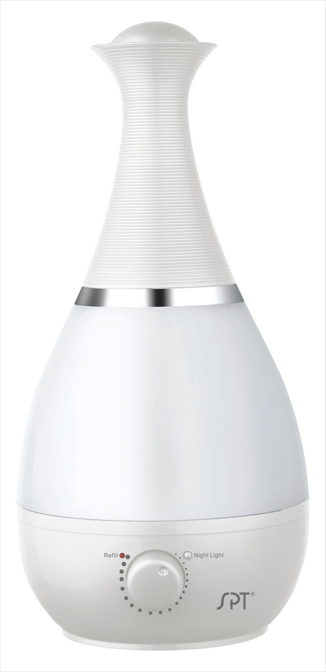 SPT-SU-2550W-Ultrasonic Humidifier with Fragrance Diffuser in Pearl White Color by S 589956b5c98fc433fb58f1af